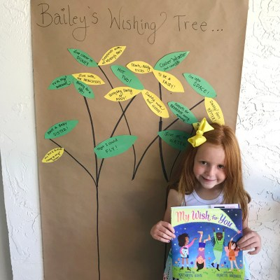DIY Wishing Tree + My Wish for You Book