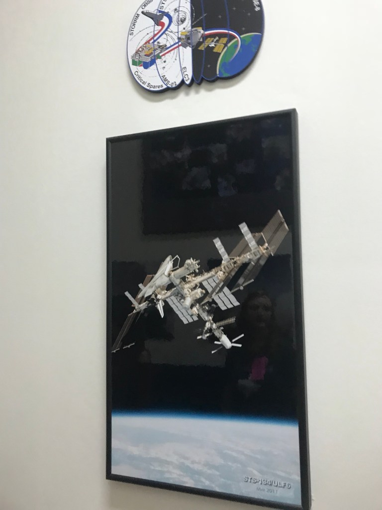 ISS being built