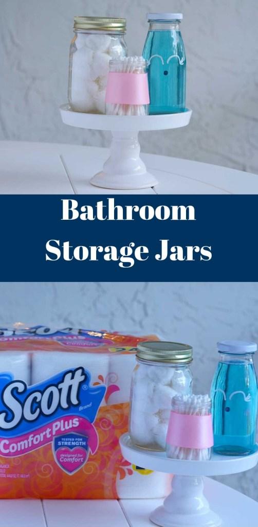 Bathroom Storage Jars