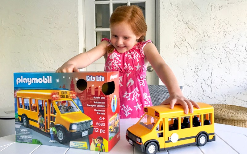 PLAYMOBIL School Bus, Playmobil school, playmobil school bus, playmobil school set, playmobil take along school