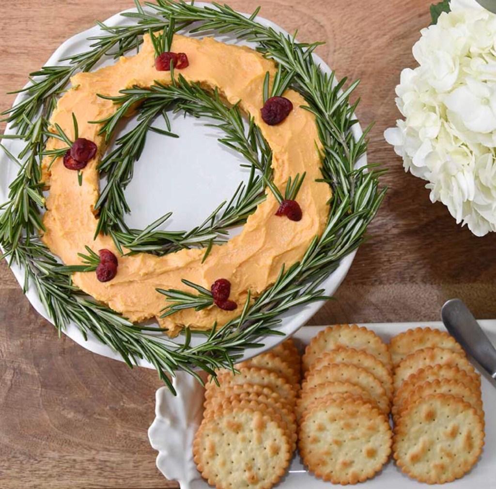 Cheese Wreath Recipe