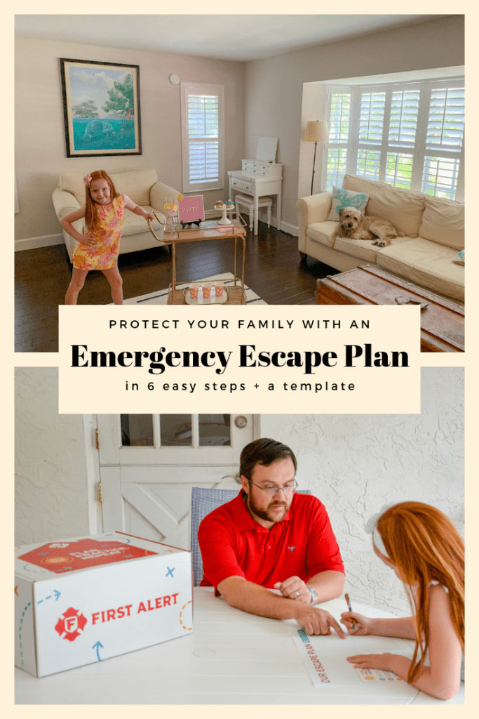Emergency Escape Plan, escape plan, evacuation plan template