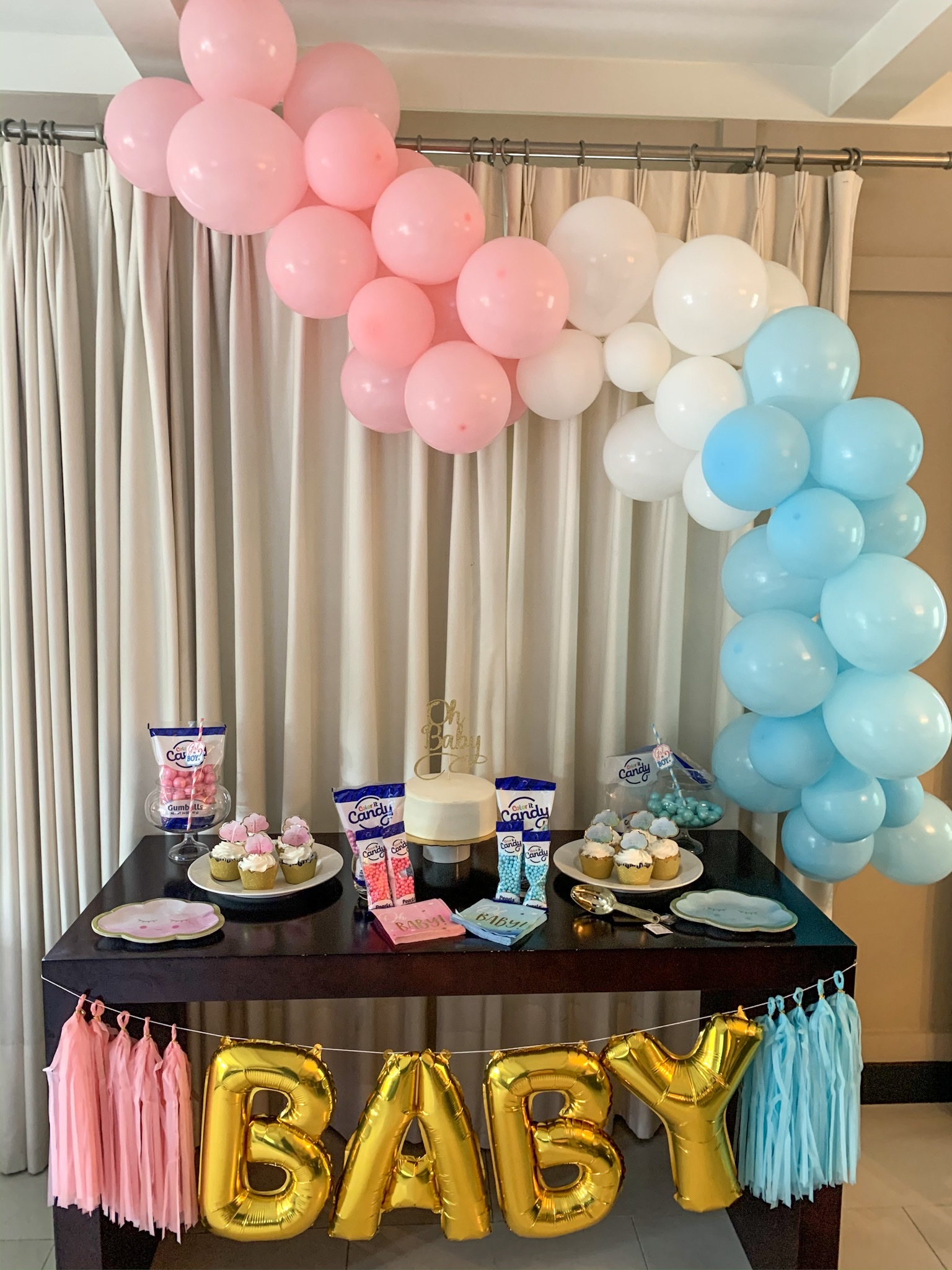 Gender Reveal Party Table Decorations  from i1.wp.com