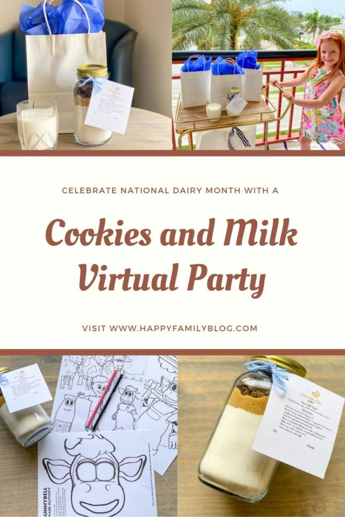 Milk and Cookies Party, Milk and cookies party, national dairy month in America