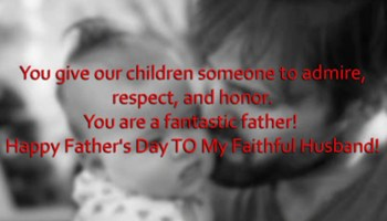 Happy Fathers Day Wishes From Daughter Son| Happy Father's