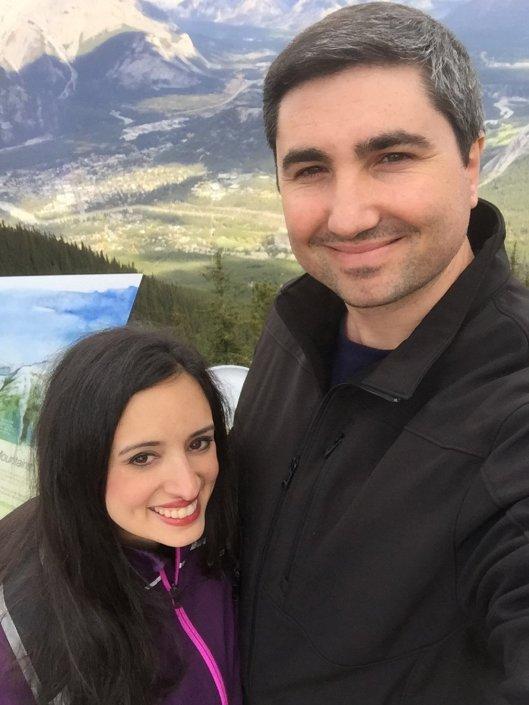 Top of Sulphur Mountain Selfie