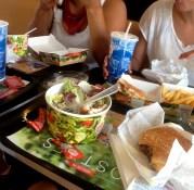 Burger King - Pampelune. Un lendemain de fête, yum !