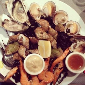 Les fruits de mer c'est la vie ! @Deauville
