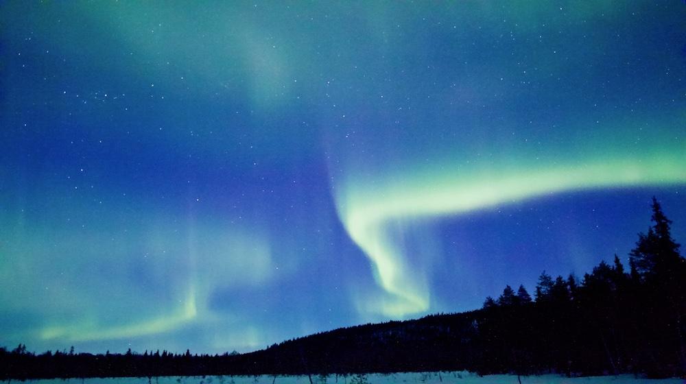 Happy-Fox-Aurora-Adventure-by-open-fire-auroras-nuuksvaara-hill