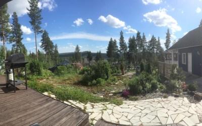 Grillausretki suomalaisessa kotipuutarhassa, 3 tuntia