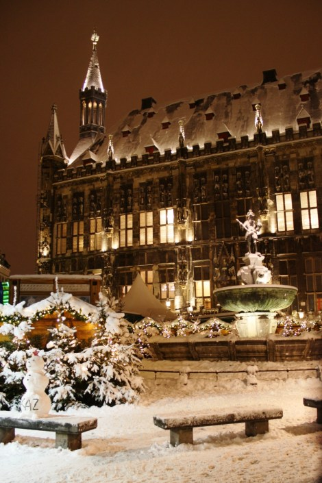 Cityhall in Winter