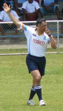 Pat Rae Referee