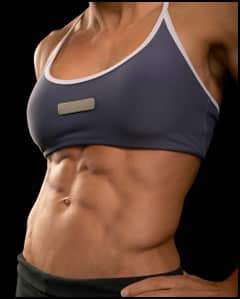 Washboard abs are made in the kitchen