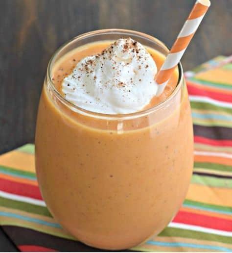 Healthy Pumpkin Smoothie Yummy look so delicious
