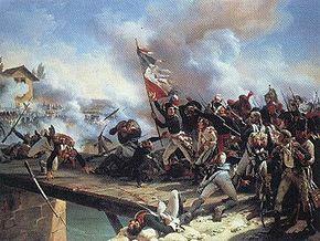 Napoleon at Arcole