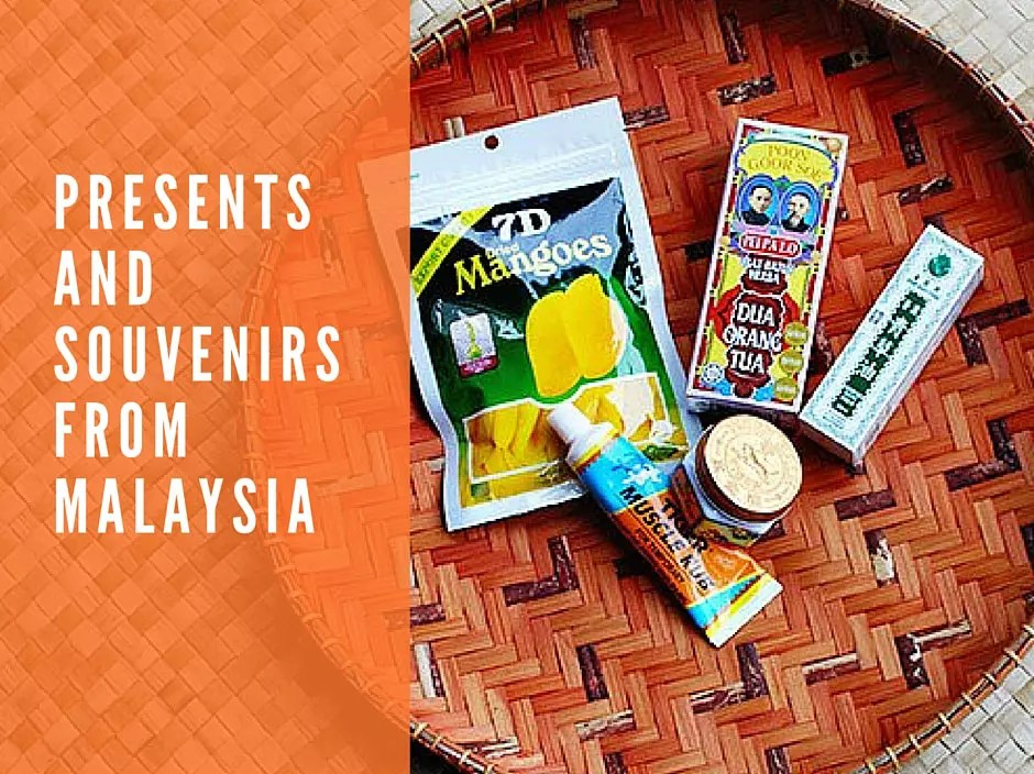 Souvenirs from Malaysia