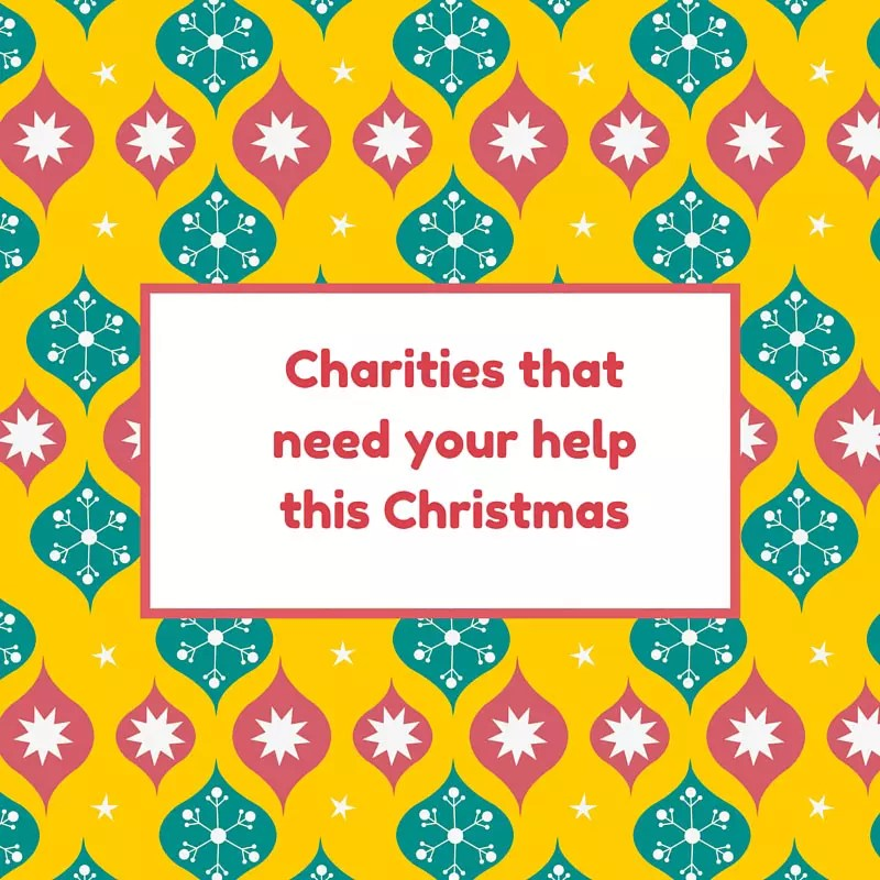 Charities in need of donations