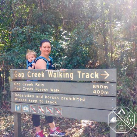 Hiking   Explore   Gap Creek Falls, Watagans National Park NSW