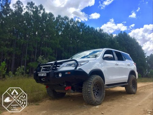 Toyota Fortuner Glasshouse Mountains State Forest