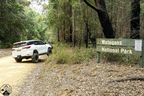 Watagans National Park 4x4 Tracks | Toyota Fortuner Flexing | Watagans 4x4 tracks