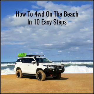 How To 4wd On The Beach In 10 Easy Steps