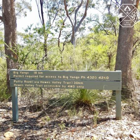 Yengo National Park - Sign
