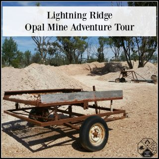 Lightning Ridge Opal Mines – Opal Mine Adventure Tour