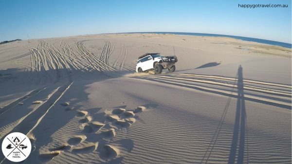 Toyota Fortuner Stockton Beach jumping sand dunes