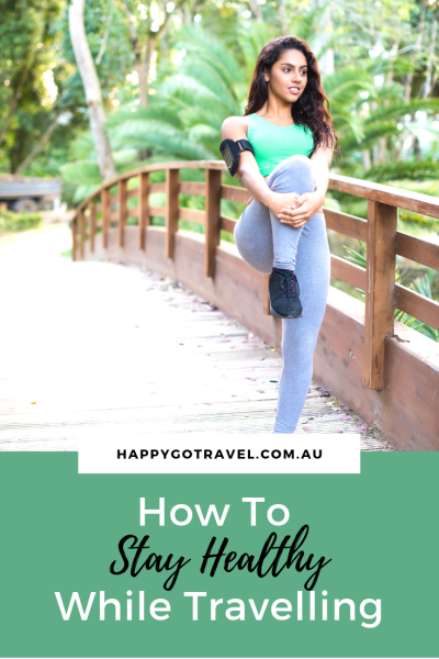 Staying healthy when travelling isn't as hard as you think. CLICK HERE to see how! #health #fitness #travel #exercise #family