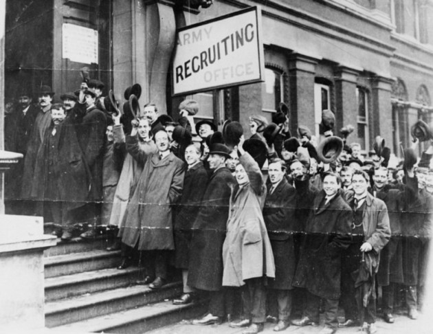 Toronto_army_recruiting_office_August_1914