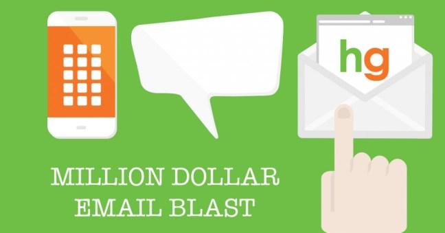 Million Dollar Email Blast