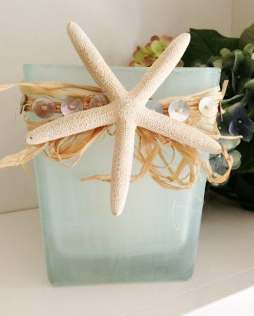sea glass holder