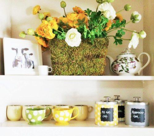 crafts shelf