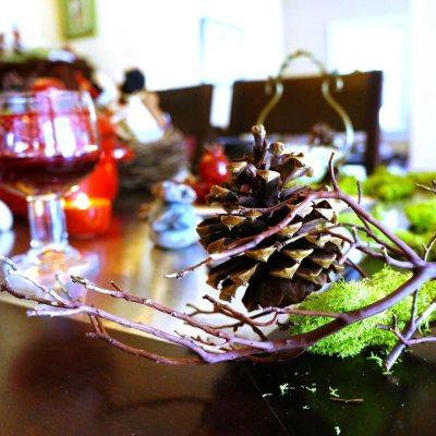 Woodland Theme Table Decorations