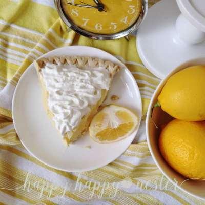 The Best Lemon Sour Cream Pie
