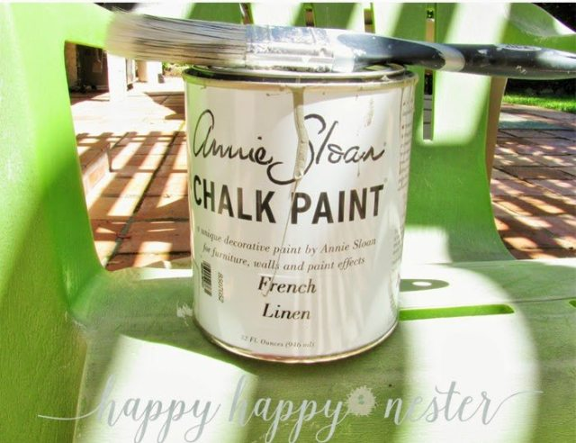 Painting with Annie Sloan Chalk Paint