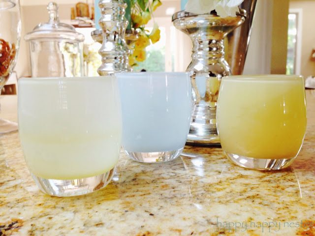 Glassybaby candle votives