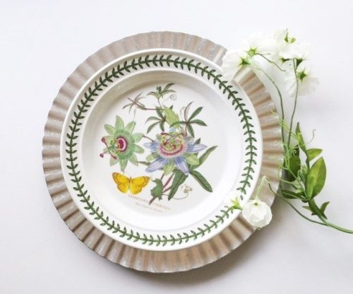 Spring plates for decor
