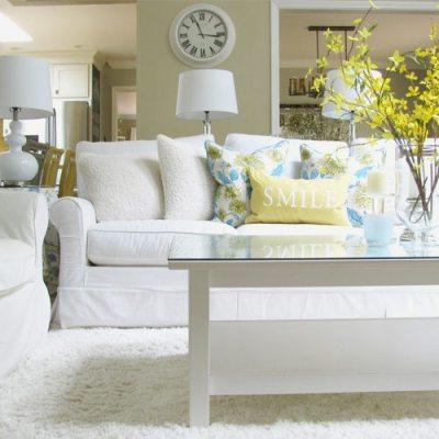Home Decor: A Spring Living Room