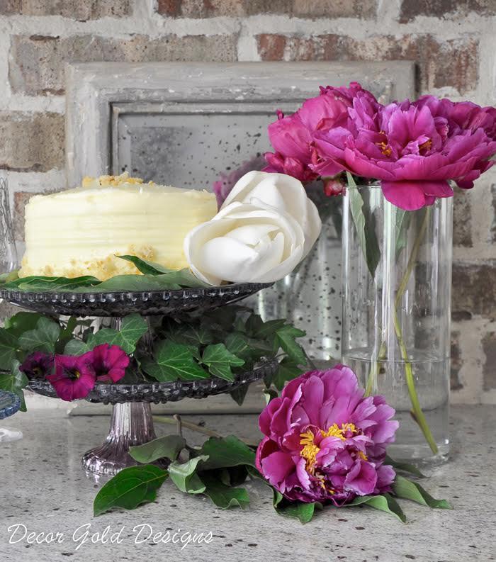 decor gold creative cake stands