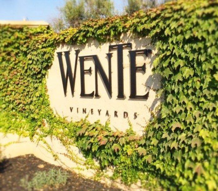 wente vineyards signage
