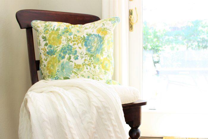 brighten post pillow