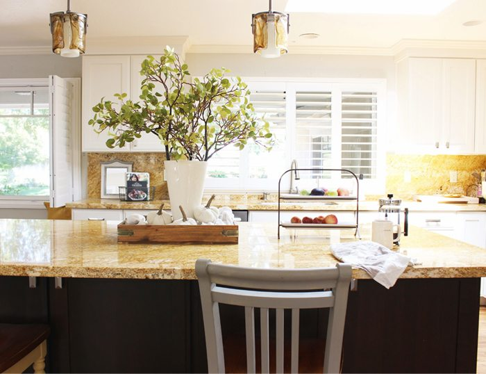 fall home tour kitchen island sm vercopy
