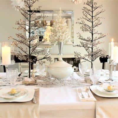 Seven Gorgeous Holiday Tablescape Ideas