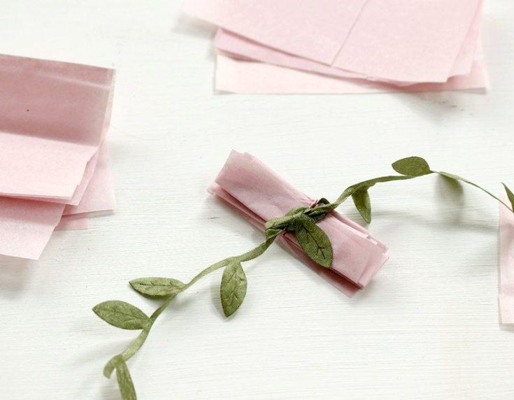 paper flower origami