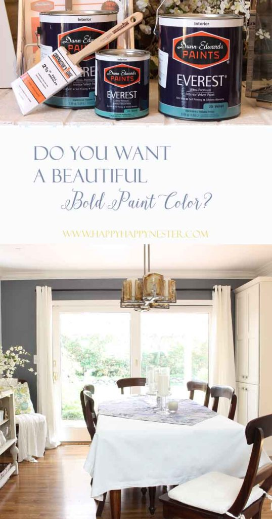 I found a great accent color that is bold and beautiful. Paired with white walls and it is so stunning.