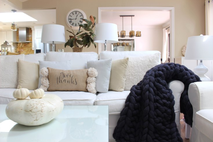 autumn designs cozy housewarming gift Thankful Always decorative blanket soft and comfy Throw Blanket fall decor