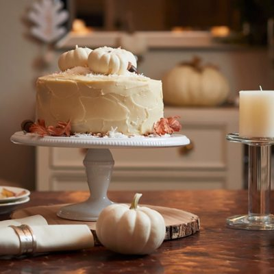 This Italian Cream Cake has a pumpkin cream cheese frosting that makes this a winning combination. This dessert is perfect for the holidays.