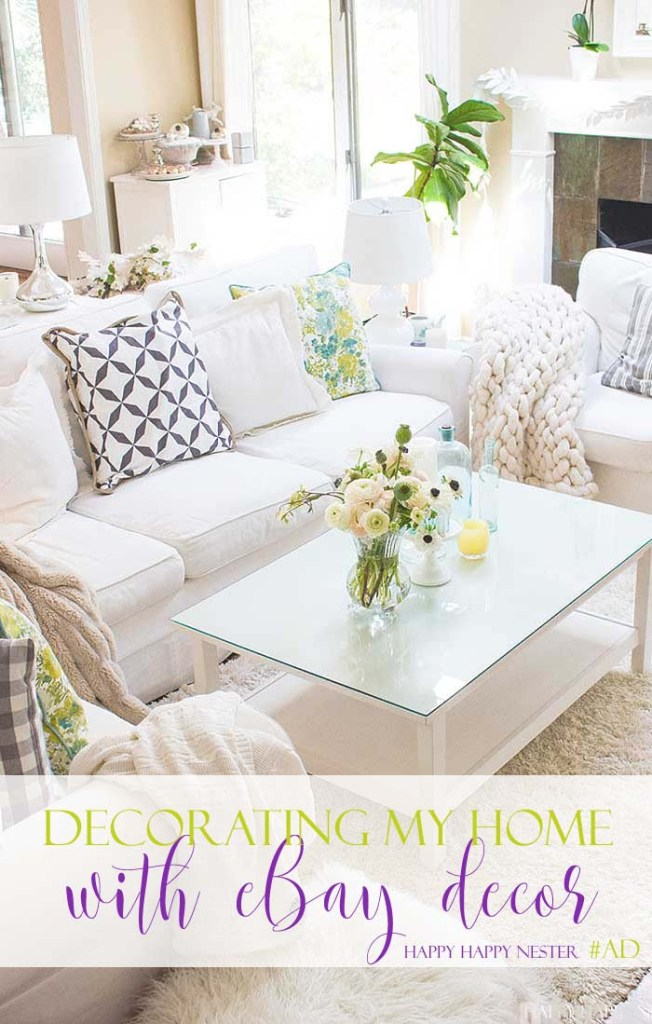 Today I'm sharing some of my favorite décor finds that you can pick up for yourself on eBay. #AD