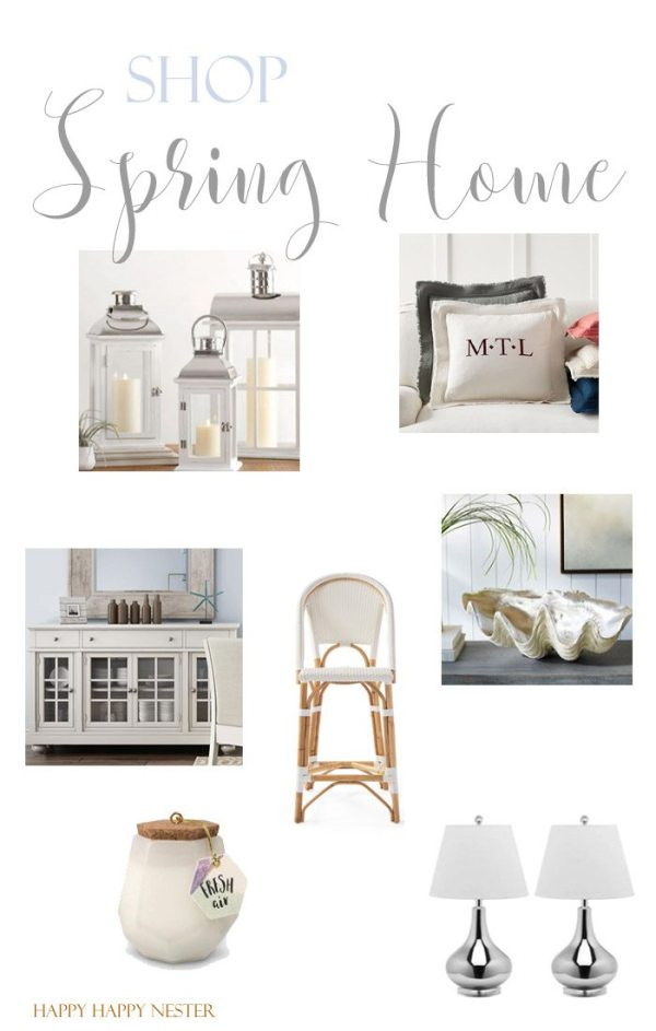 Here is a fun shopping list for your spring decor. Some items I found on sale, and you won't want to miss out. I also own most of them and I absolutely love them! Hop on over for a quick and easy shopping list that will save you time and money. #shop #homedecor #homeaccents #shoppingpost #shopthepost #decor #decorating
